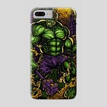 Hulk's Havoc - Phone Case by Steve Pierce