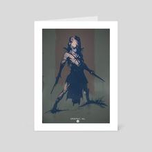 Predator  - Art Card by Cosmin Podar