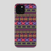 Ethnic pattern 77 - Phone Case by Luiza Kozich