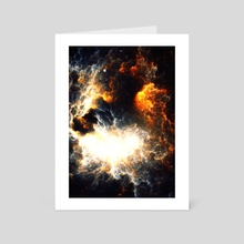 Firestorm - Art Card by Andi GreyScale