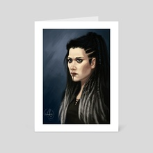 Yasha - Art Card by Mali Ware