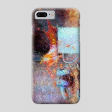 Coffee Splash Impressionist Painting - Phone Case by Bridget Garofalo