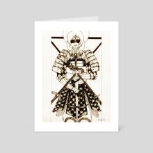 Four of Swords - Art Card by beezle