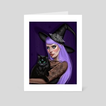 witchy - Art Card by Laura Vivar