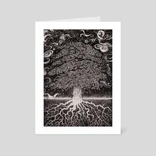 Tree - Art Card by Andrew Ken Stewart