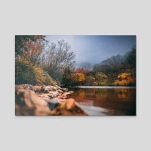 Gorgeous Autumn Colors - Acrylic by Abbie Zeek