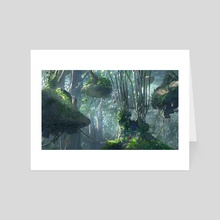 Jungle Gateway - Art Card by James Combridge