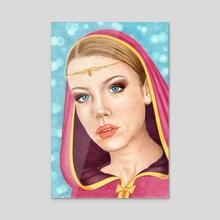 Laurendil - Acrylic by Aurelia Chaintreuil