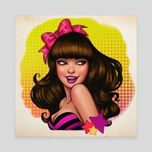 Trixie - Canvas by Crystal Wall Lancaster