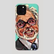 Hayao Miyazaki - Phone Case by HYZO
