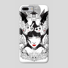 Witchcraft - Phone Case by sergio saucedo