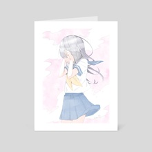 Sometimes you just want to cry - Art Card by Inma Ruiz