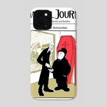 Kriminal Journal Cover - Phone Case by Walter Froehlich