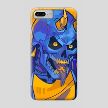 Step 3: Bask in the Fires of Hell - Phone Case by Roxy Urquiza Flores