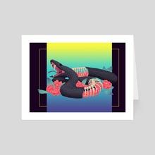 Hyper reality - Art Card by Arantxa López