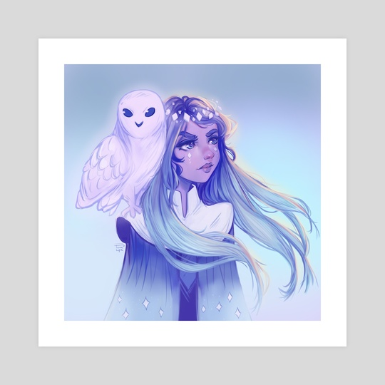 Owl Girl by Pomelyne .