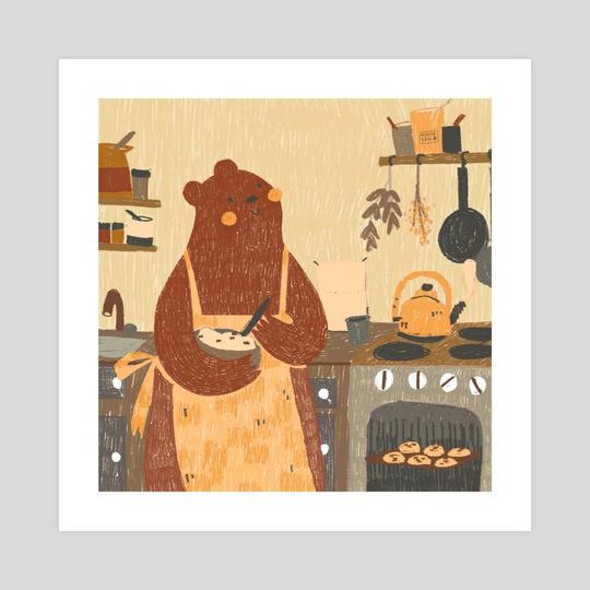 Holiday Bear by Qath Sioc