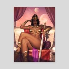 Dejah Thoris - Canvas by Krystopher Decker