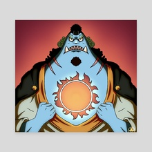 Jinbe - Canvas by Ejow Onomuosiuko