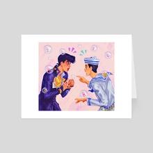 two of them - Art Card by Fatima Wajid