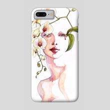 Orchid - Phone Case by Lindsay van Ekelenburg