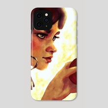 snow white - Phone Case by Tatum Flynn