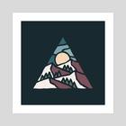 Mountain Top - Art Print by Jimmy Bryant