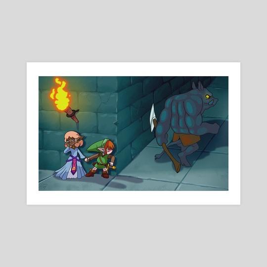 Zelda Animated Movie by Lasse Milling Madsen
