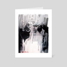 The Riviera - Art Card by Daniel Hernandez