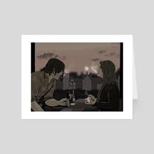 Look At Me - Art Card by Ellie Wyatt