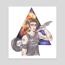 Jim Hawkins   - Canvas by Nicole Sotgia