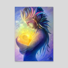Life Keeper - Acrylic by Moonpix