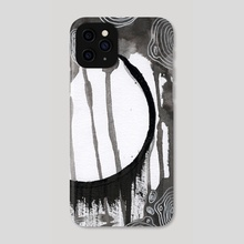 Abstract Circles - Phone Case by Lex White-Smith