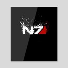 n7 - Acrylic by Maxim G