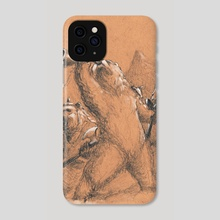 Bearworld- Forward Unto Victory - Phone Case by Jim Gallo