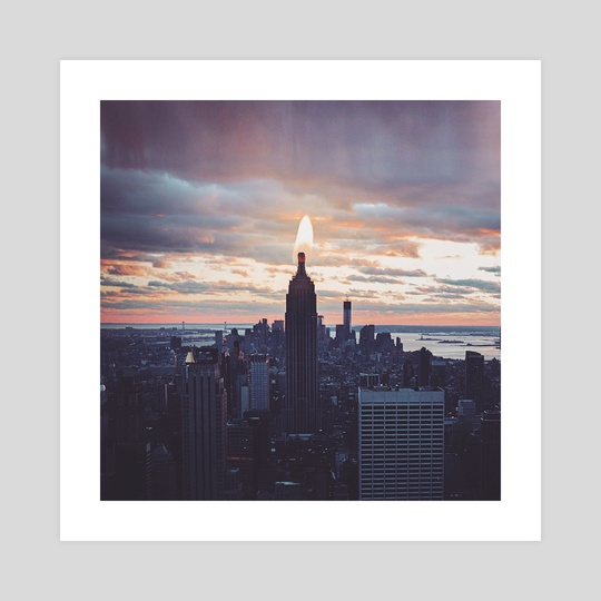 Empire State Candle by Monica Carvalho