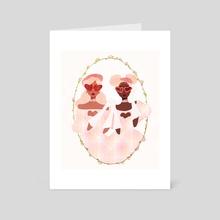 delightful - Art Card by bee