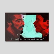 Carlito's Way - Acrylic by Kirsten Shiel