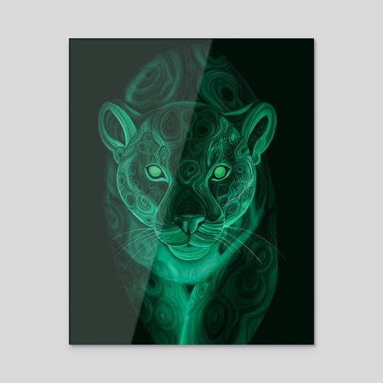 "Malachite Jaguar by E. ""Narumi"" Prince"