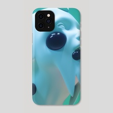 RADIOACTIVE SHOOT - 02 - Phone Case by GERMANY VICTORIN Gregory