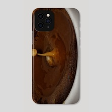 Coffee Milk Drop  - Phone Case by Vlad Stroe