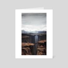Ridge - Art Card by Marouane Bembli