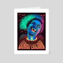 Danny Brown / Black Light - Art Card by Infinite Mind Warp