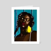 Lemon Sunshine - Art Card by Caitlin Prothero
