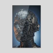 OVERTHINKING - Acrylic by Gigi Gvalia