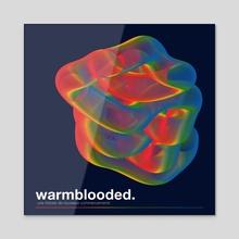 WARMBLOODED - Acrylic by Jibaye Ogunsiakan
