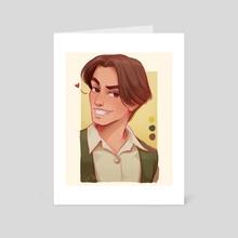 Dimitri - Anastasia - Art Card by Luz Tapia