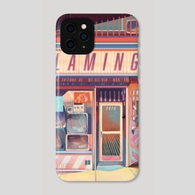 Flamingo Electronics - Phone Case by Geneva Bowers