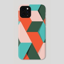 Shadow Geometry #3 - Phone Case by Andrew  Haan