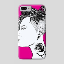 Queen 1 - Phone Case by Kerff Petit-Frere